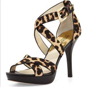 MK Evie Platform Heels 👠